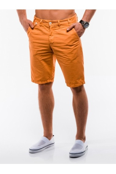 Pantaloni scurti Ombre W195 Portocaliu