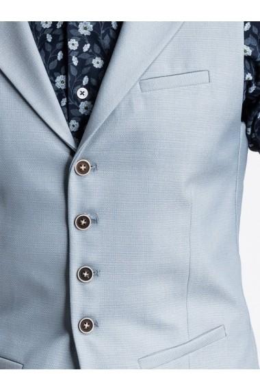 Vesta premium eleganta barbati  V46 albastru deschis