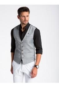 Vesta premium eleganta barbati  V48 negru