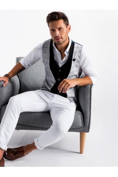 Vesta premium eleganta barbati  V49 gri