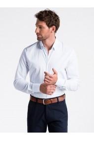 Camasa premium elegant barbati  K496 alb