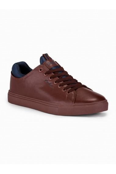 Pantofi casual barbati T333 maro