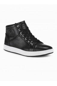 Pantofi inalti barbati T328 negru
