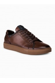 Pantofi casual barbati T324 maro