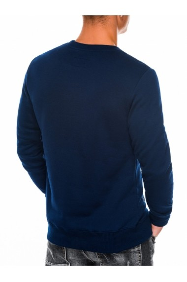 Bluza barbati B984 bleumarin