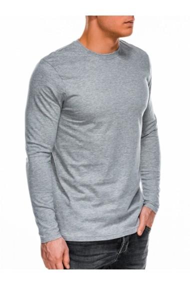 Bluza barbati simpla bumbac L118 gri
