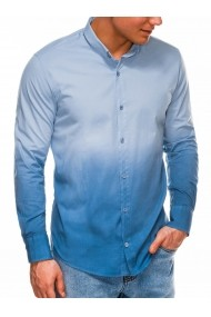 Camasa barbati K514 albastru