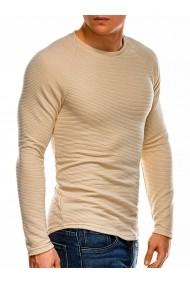 Bluza slim fit barbati B1021 bej