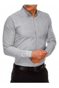Camasa premium barbati K516 negru alb