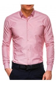 Camasa premium barbati K529 roz