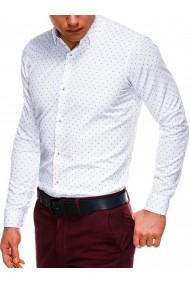 Camasa premium barbati K524 alb