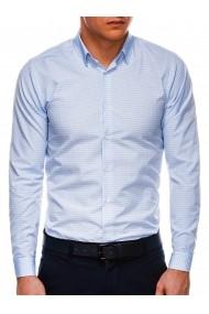 Camasa premium barbati K522 albastru deschis