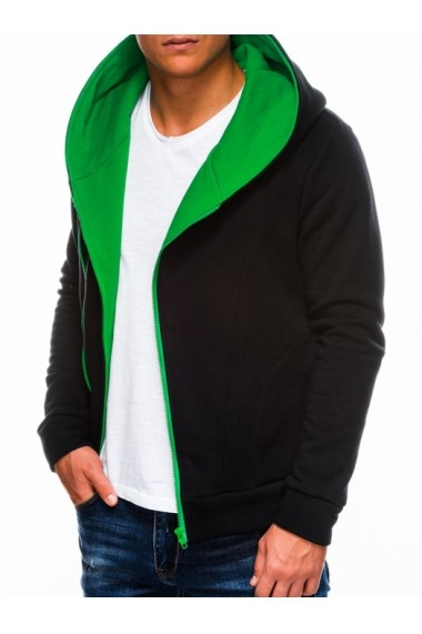 Hanorac barbati PRIMO  negru verde