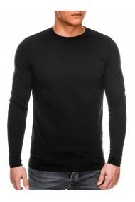 Bluza barbati simpla bumbac L118 negru