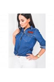 Camasa Fashion by HaineSelect bumbac 16391 Albastra