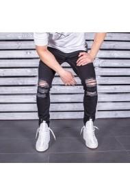 Jeans BB Salazar slim fit conici casual skinny 0057 Negru