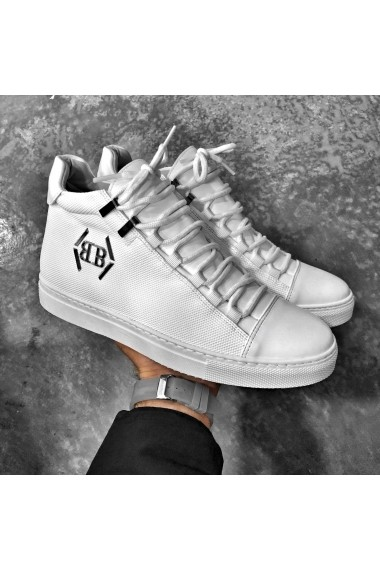 Pantofi sport BB Salazar BB223 Alb