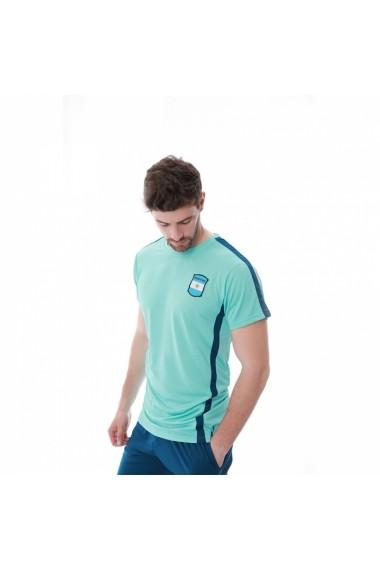 Set tricou si pantaloni Essense Argentina Turcoaz