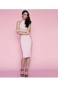 Rochie de zi midi Moi Moi Paris NATASHA roz