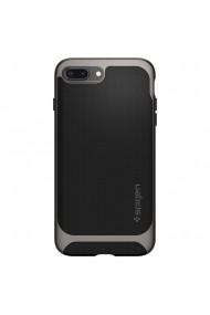 Husa iPhone 8 Plus / 7 Plus Spigen Neo Hybrid Herringbone Gunmetal