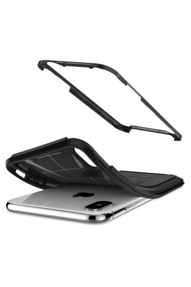 Husa iPhone XS / X Spigen Hybrid NX Black