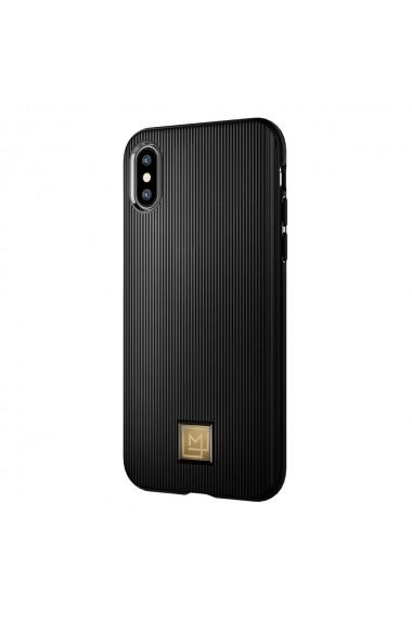 Husa iPhone XS / X Spigen La Manon Classy Black