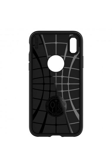 Husa iPhone XS / X Spigen Rugged Armor Black