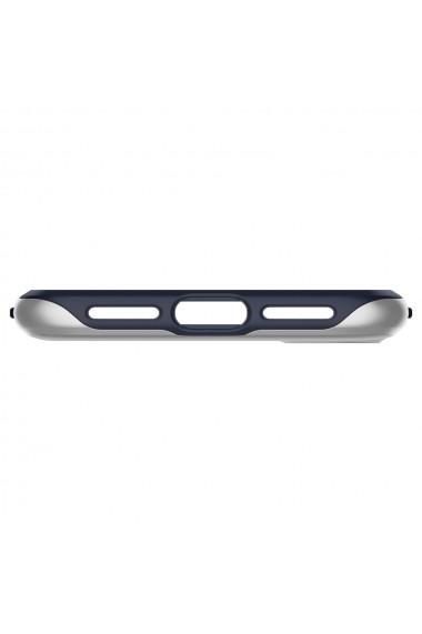 Husa iPhone XS Max Spigen Neo Hybrid Satin Silver