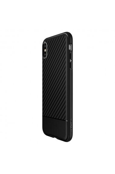 Husa iPhone XS Max Spigen Core Armor Black