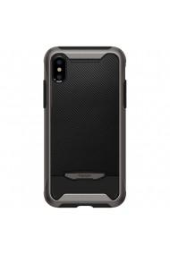 Husa iPhone XS Max Spigen Hybrid NX Gunmetal