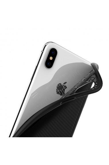 Husa iPhone XS Max Spigen La Manon Classy Black