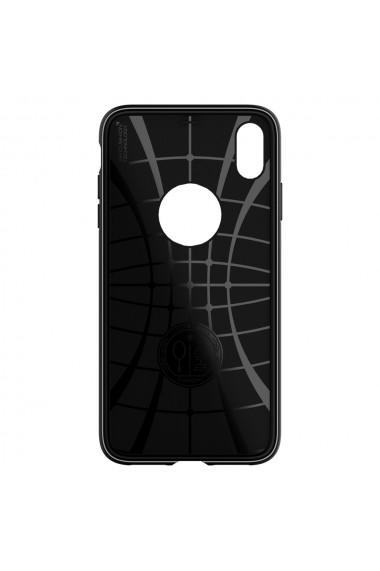 Husa iPhone XS Max Spigen Rugged Armor Black
