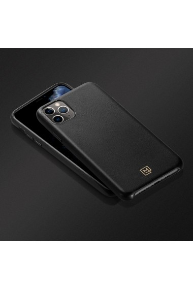 Husa iPhone 11 Pro Max Spigen La Manon Calin Black