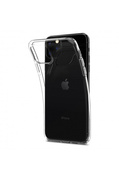 Husa iPhone 11 Pro Max Spigen Liquid Crystal Crystal Clear