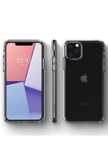Husa iPhone 11 Pro Max Spigen Liquid Crystal Crystal Clear