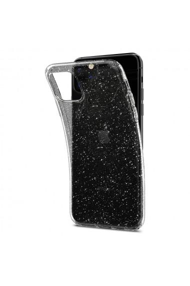 Husa iPhone 11 Pro Max Spigen Liquid Crystal Glitter Crystal Quartz