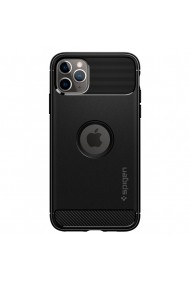 Husa iPhone 11 Pro Max Spigen Rugged Armor Black