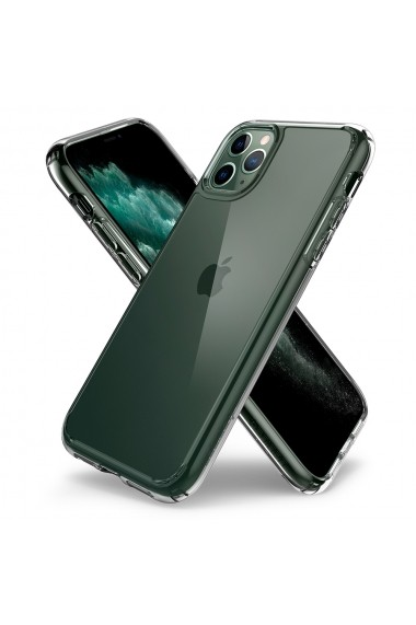 Husa iPhone 11 Pro Max Spigen Ultra Hybrid Crystal Clear