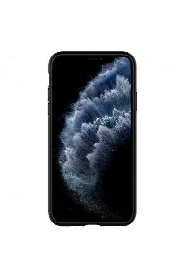 Husa iPhone 11 Pro Max Spigen Ultra Hybrid Black
