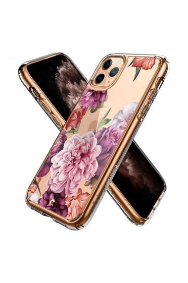 Husa iPhone 11 Pro Max Spigen Ciel Cecile Rose Floral
