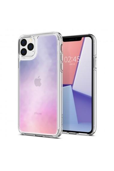 Husa iPhone 11 Pro Spigen Crystal Hybrid Quartz Gradation