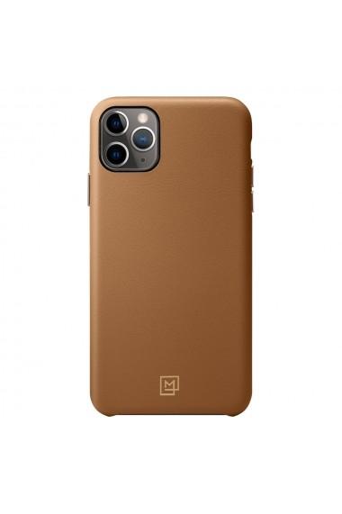 Husa iPhone 11 Pro Spigen La Manon Calin Camel Brown