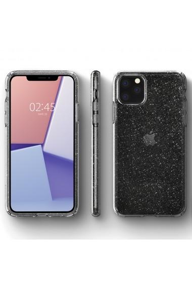 Husa iPhone 11 Pro Spigen Liquid Crystal Glitter Crystal Quartz