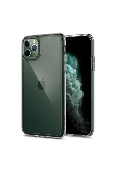 Husa iPhone 11 Pro Spigen Ultra Hybrid Crystal Clear