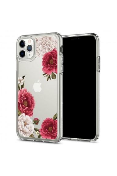 Husa iPhone 11 Pro Spigen Ciel Cecile Red Floral