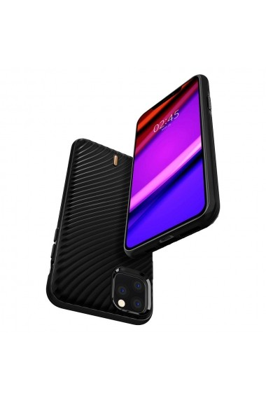 Husa iPhone 11 Pro Spigen Ciel Wave Shell Black