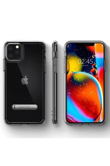 Husa iPhone 11 Pro Spigen Ultra Hybrid ``S`` Crystal Clear
