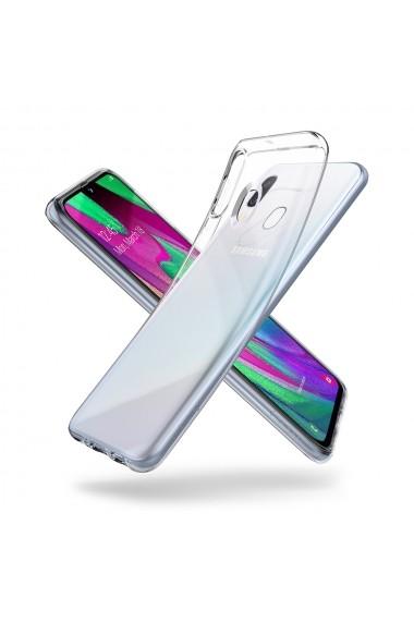 Husa Samsung Galaxy A40 Spigen Liquid Crystal Crystal Clear