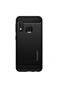 Husa Samsung Galaxy A20e Spigen Rugged Armor Black
