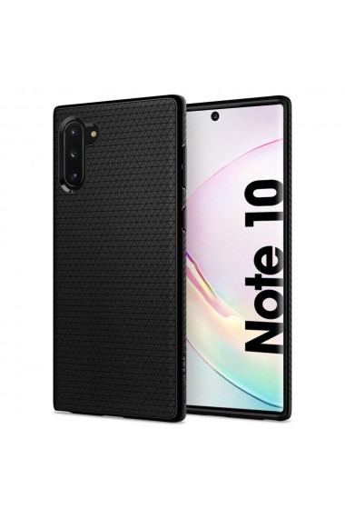 Husa Samsung Galaxy Note 10 Spigen Liquid Air Black